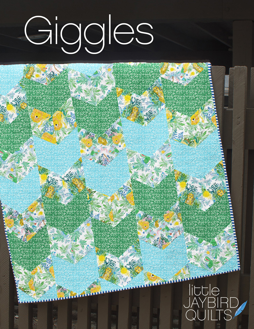 Giggles Quilt Boy Option Large Scales