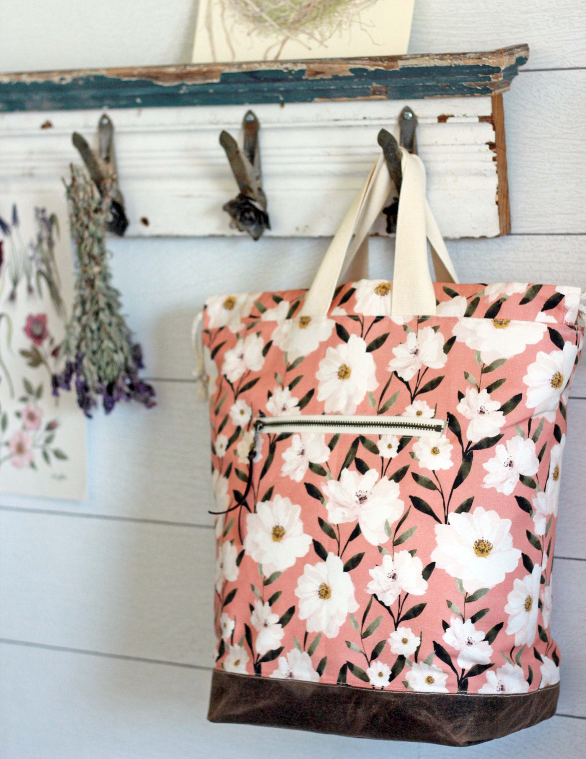 Desert Rose Fabric at Hawthorne Supply Co Indy Bloom