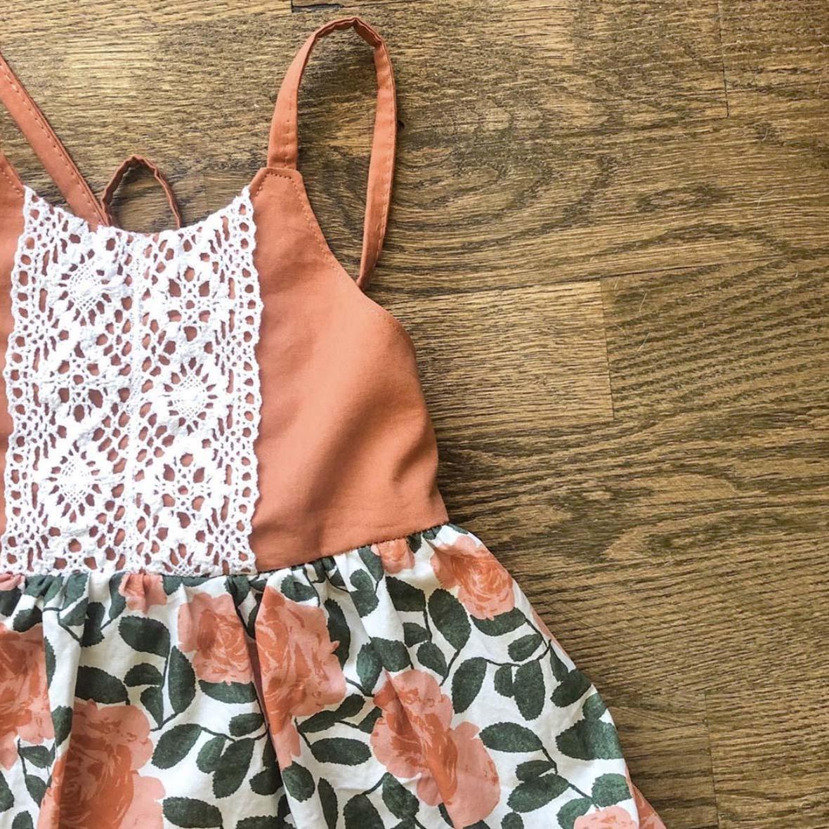 Desert Rose Dress from Juniper Row Clothing