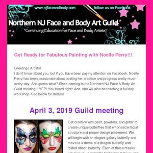 Noelles Face And Body Art