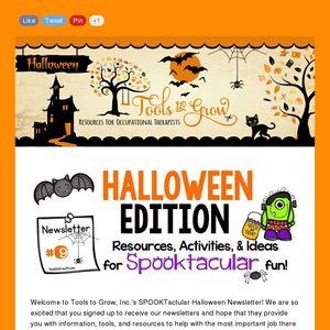 spooktacular halloween newsletter