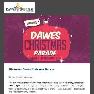 Dawes Christmas Parade 2020 Join Us For The Dawes Christmas Parade