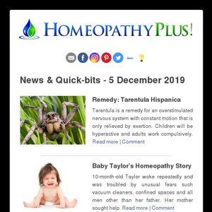 25 Gift Remedy Tarentula Hispanica Baby Taylor S