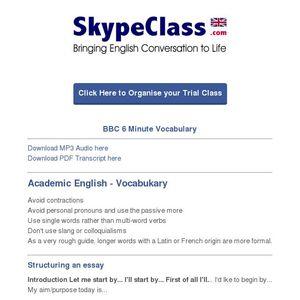 Pdf english 6 minute