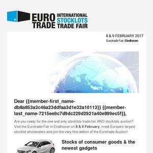 The Eurotrade Auction - Stocks of consumer goods