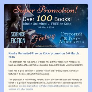 Super Promotion! 100 Books Free or Discounted!