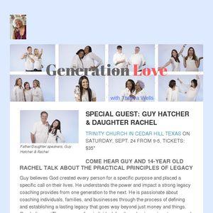 12 Day Count Down To Gen Love Event Guy Rachel Hatcher