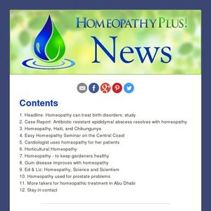 Latest News from Homeopathy Plus -- 11 June 2014