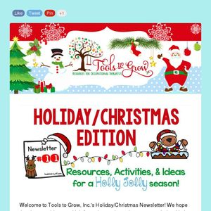 Christmas Holiday Newsletter