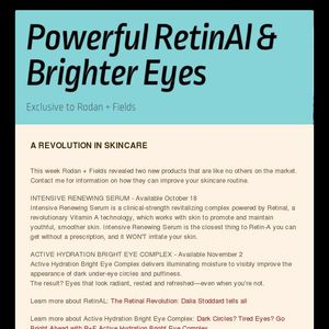 Join the RetinAL Revolution