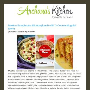This weeks weekly meal planning menu by archanas kitchen forumfinder Gallery