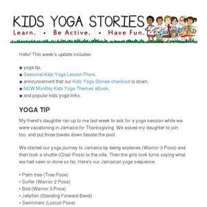 Yoga Ideas For Every Season