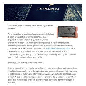 Metal business cards colourmoves