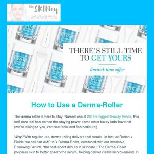 The Skinny on how and why to use a derma roller