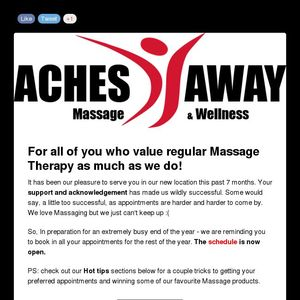 Jays win!!! Now Book that Massage :)