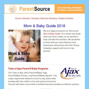 Mom & Baby Guide 2018