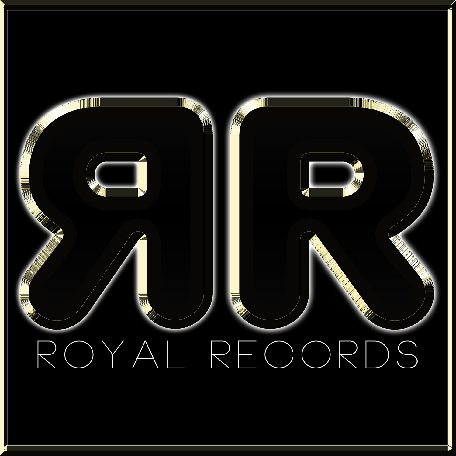 Royal records logo  square with background b